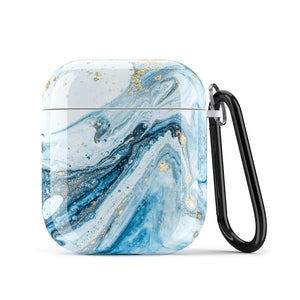 Water Marble AirPods Case