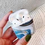 Colorful Marble AirPods Case