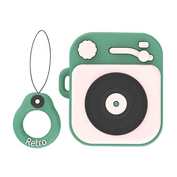 Vinyl Player AirPods Case