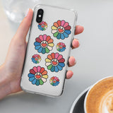 Rainbow Flower iPhone Case