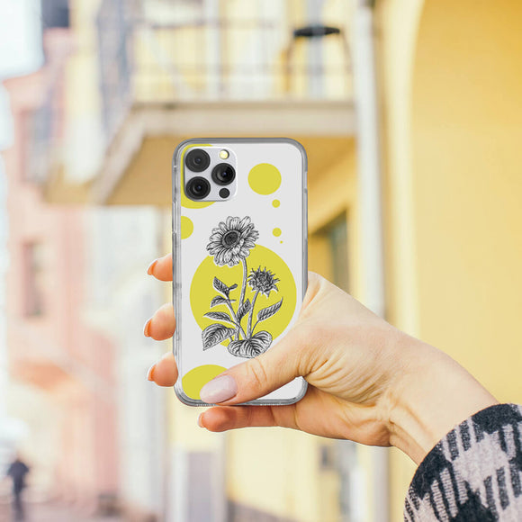 Rising Sunflower iPhone Case