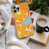 Sliced Fresh Orange iPhone Case