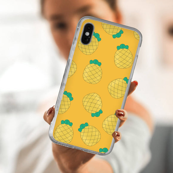 Smiling Pineapple iPhone Case