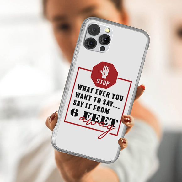 6 Steps Away iPhone Case