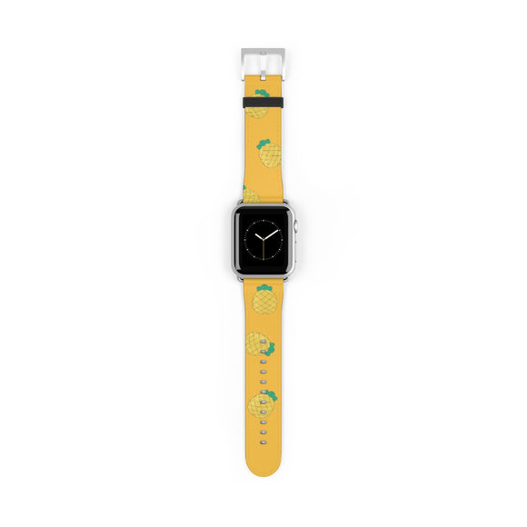 Smiling Pineapple Apple Watch Band