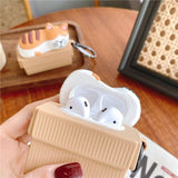 Sleeping Cat AirPods Case