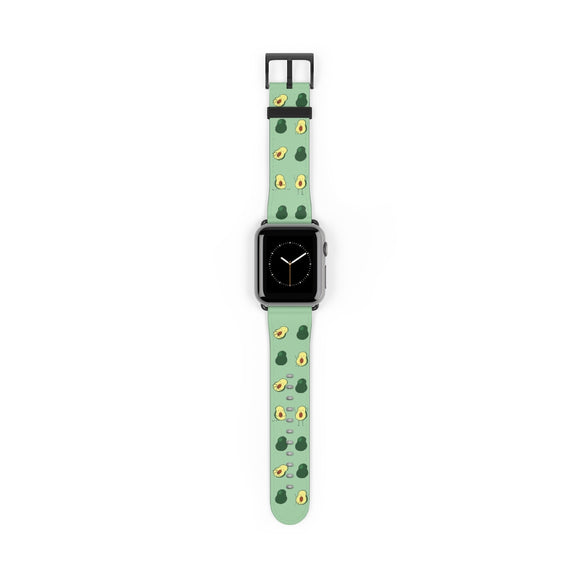 Avocado Print Apple Watch Band