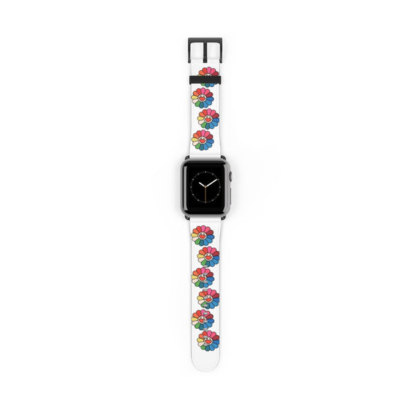 Rainbow Flower Apple Watch Band