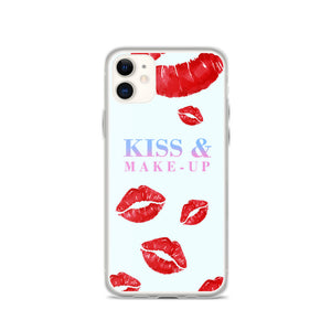 Kiss & Makeup iPhone Case