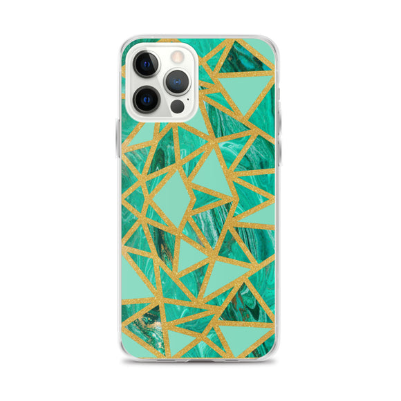Turquoise Gemstone iPhone Case