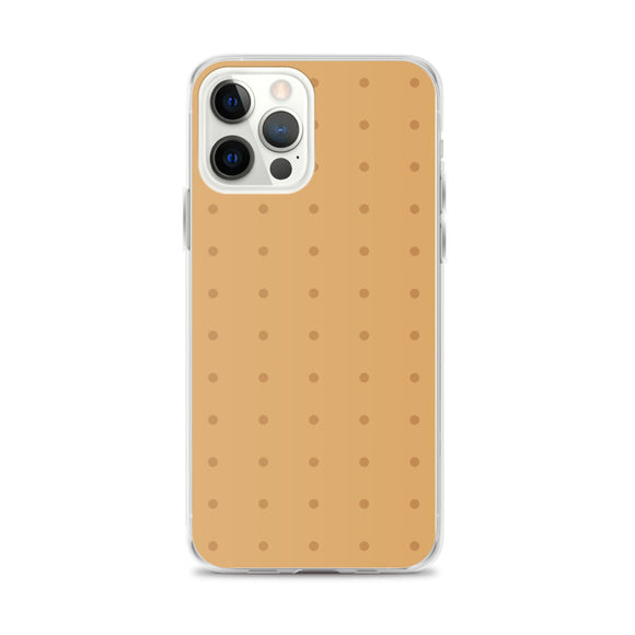 Square Biscuit iPhone Case
