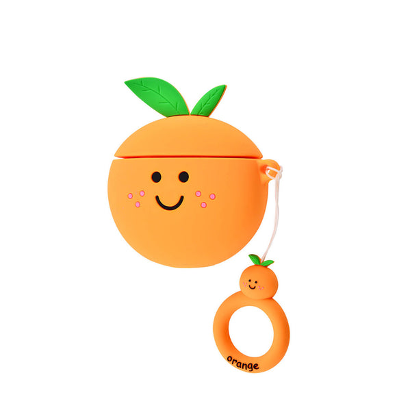 Orange Fruit AirPods Case