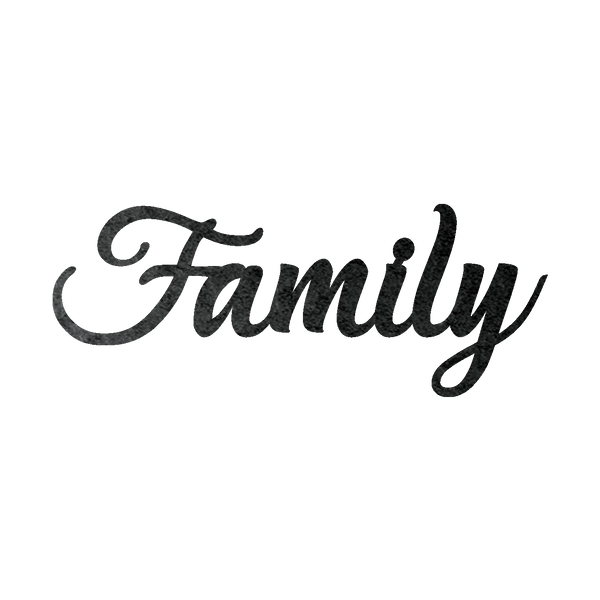 Family Metal Wall Sign