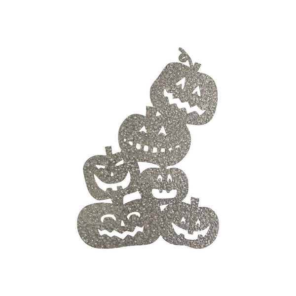 Pumpkin Stack Metal Wall Art