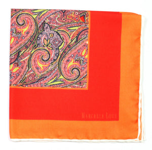 MARCELLE LOVE Pocket square