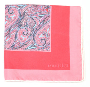 MARCELLE LOVE - Pocket square