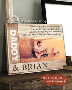 BENICEE Top 10 Personalized Gift For Kids Custom Photo And Name - How Special You Are To Me Wall Art Canvas-canvas-Benicee