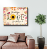 Canvas - Hippie - LOVE - Benicee