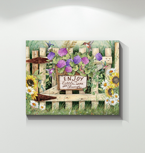 Canvas - Hippie - Enjoy the little things - Benicee
