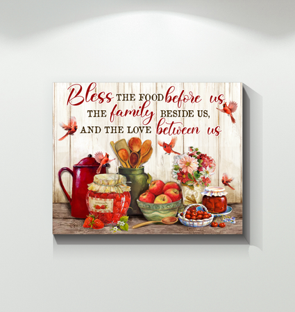 Canvas - Family - Food Family Love - Benicee