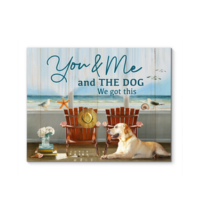 Canvas - Ocean - You & Me and the Dog - Benicee
