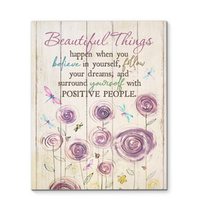 Canvas - Hippie - Dragonfly - Beautiful things - Benicee