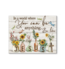 Canvas - Jesus - Be like Jesus - Benicee