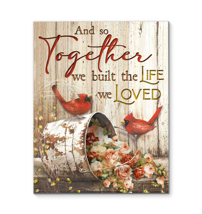 Canvas - Family - And so together - Benicee