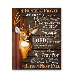 Canvas - Hunting - A hunter prayer - Benicee