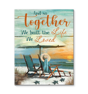 BENICEE Turtle And So Together Wall Art Canvas-Canvas Prints-Benicee