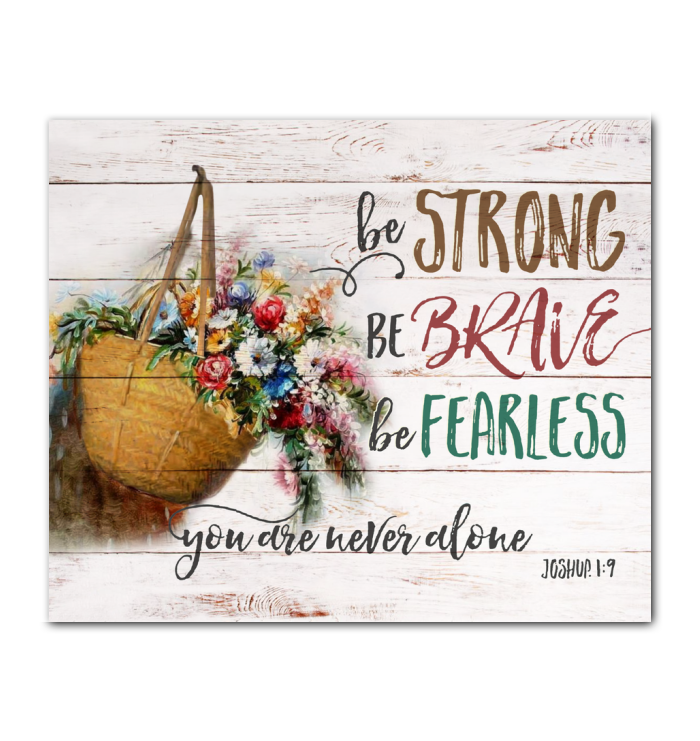 Canvas - Hippie - You are never alone - Benicee