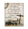 BENICEE Farm The Old Rugged Cross Wall Art Canvas-Canvas Prints-Benicee