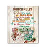 Canvas - Hippie - Porch rules - Benicee