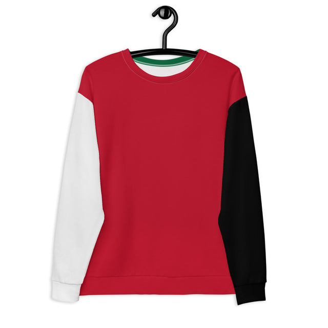 Color Block Sweatshirt (Holiday) - Justin Don Shop
