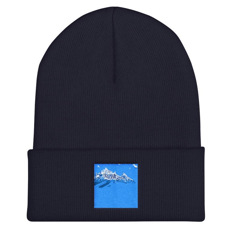 Blue Beanie - Justin Don Shop