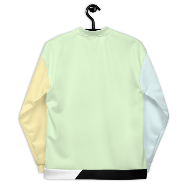 Color Block Bomber Jacket - Justin Don Shop