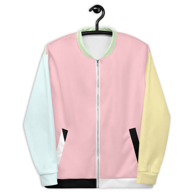 Color Block Bomber Jacket – The Don Shop