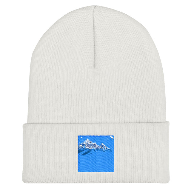 Blue Eyes Cuffed Beanie - Justin Don Shop
