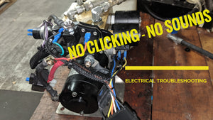 Troubleshooting Electrical system - No clicking - no Sounds