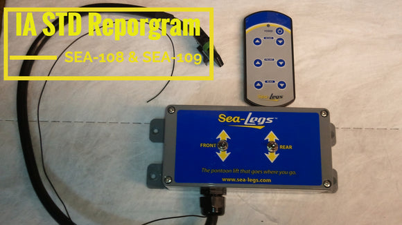 STD IA Remote reprogramming  (SEA-108 & SEA-109)