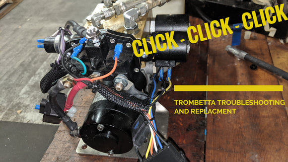 CLICK - CLICK - CLICK Is all I hear (Trombetta Testing and Troubleshooting)