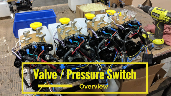 Overview of Valves, Coils and Pressure sitch