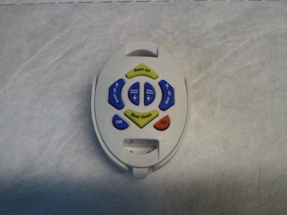 White Oval Multi-color Transmitter
