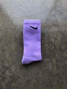 Grape Purple Fashion Sock