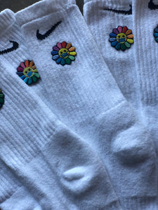 Save the Flower fashion socks
