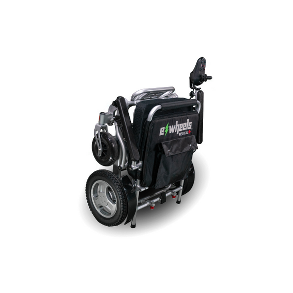 E-Wheels EW-M45 24 Volts 360 Watts 12 Amp Hours Lightweight Electric Folding Wheelchair