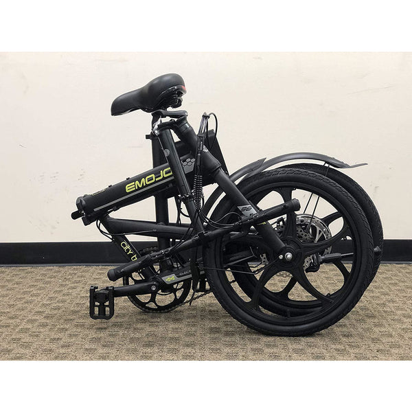Emojo City Trek 36 Volts 300 Watts 10 Amp Hours 20 Inch Tires Folding Electric Bike
