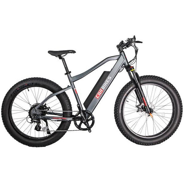 Civi Predator 48 Volts 500 Watts 13 Amp Hours 26 Inch Fat Tires Electric Mountain Bike