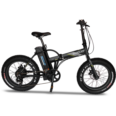 Emojo Lynx Pro 48 Volts 500 Watts 10 Amp Hours 20 Inch Fat Tires Folding Electric Bike