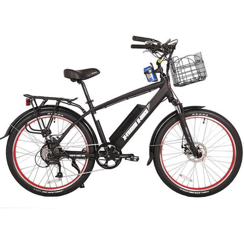 X-Treme Laguna Beach 48 Volts 500 Watts 10 Amp Hours 26 Inch Tires Electric Cruiser Bike